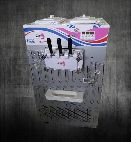 Machine à glace italienne de comptoir Gros débit Made...