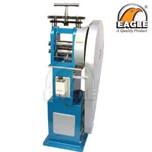Roll press electric with stand
