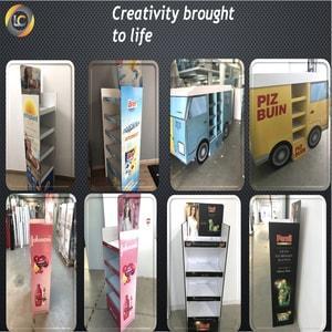 Cardboard Displays