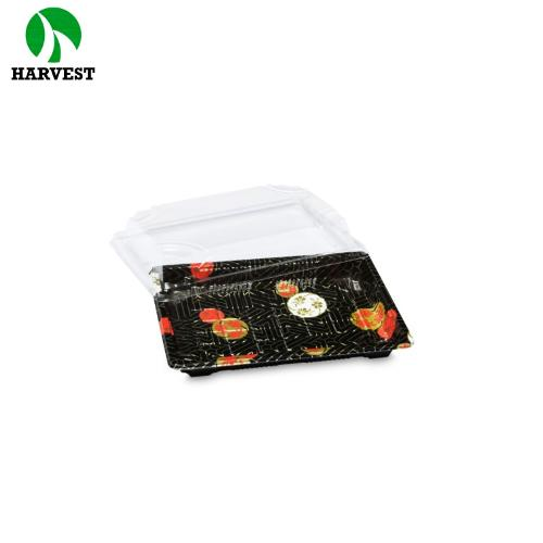 China Wholesale High Quality Plastic Sushi Tray Box Container