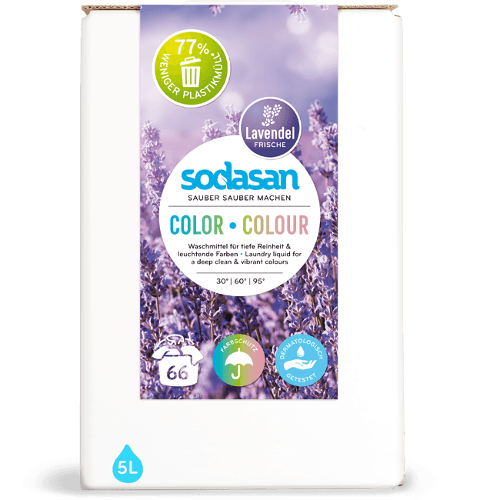 Sodasan Laundry Liquid Colour Lavender