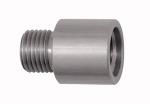 Thread adapter, Aluminium, ET M12x1.25, IT G 1/4