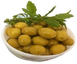 Manzanella Green olives