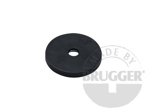 Magnet assembly, NdFeB, rubber coat black