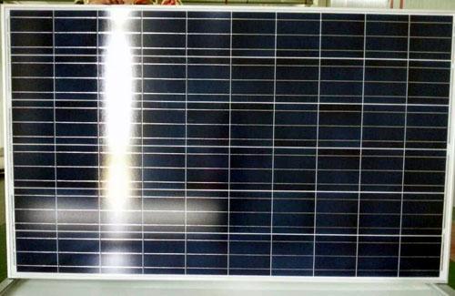 Panel solar de polietileno 265w