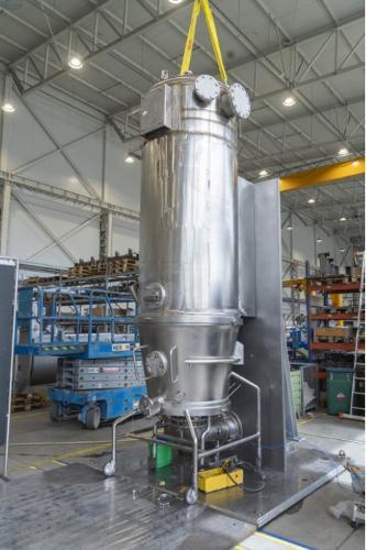 Bau von Anlagen aus Edelstahl - OEM-Produktion