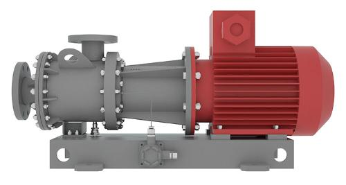 Horizontal Pumps With Magnetic Coupling