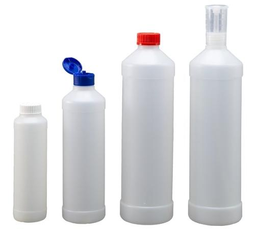 Rund-Flaschen Serie FRZ - Polyethylen (PE-HD)