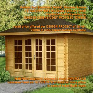 PREFAB WOOD HOME KITS FROM RUSSIA (LUMBER)