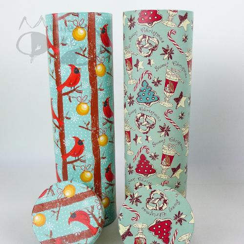 "Подарочная коробка (тубус под бутылку) ""Sweet..."