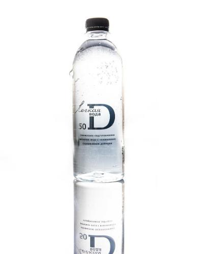 Potable light water D50 (50 ppm of deuterium) 12 pcs.of 0.5l