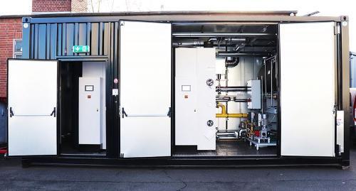 Installation de vapeur en conteneur - Chaudières à vapeur