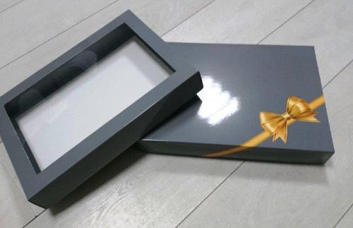 συσκευασία με παράθυρα
