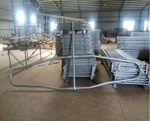 hot dip galvanized cow/cattle stall/headlock
