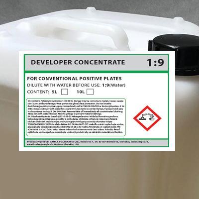 Ampla 1:9 Developer Concentrate