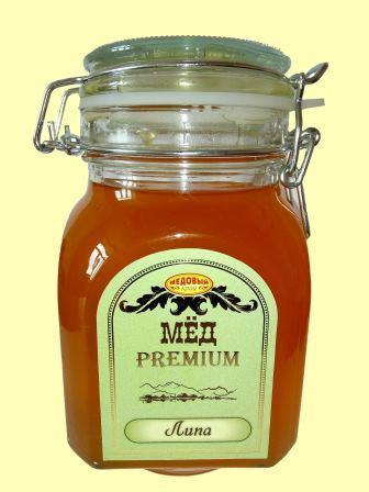 Мед натуральный липовый