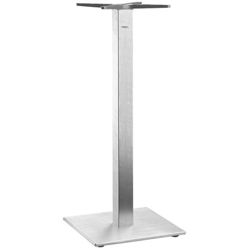 Table Base Borkum High Square Brushed