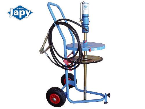 Pneumatic pump - mobile equipment