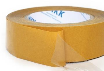 Unsupported adhesive-transferring tape