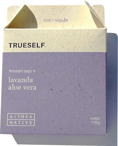 LAVENDER, ALOE VERA natural soap