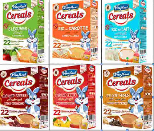 VITAMEAL Baby-CEREALES