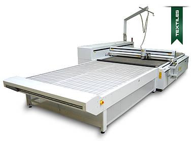Laser machine for textiles