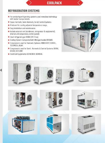 industrial refrigerating systems