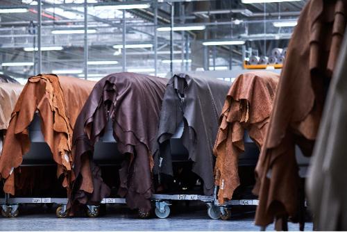 Semianiline Leather