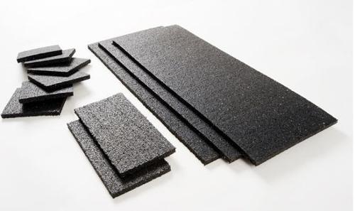 Rubber zekering matten, rollen en stroken vrachtwagen