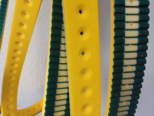 VFFS haul-off timing belts