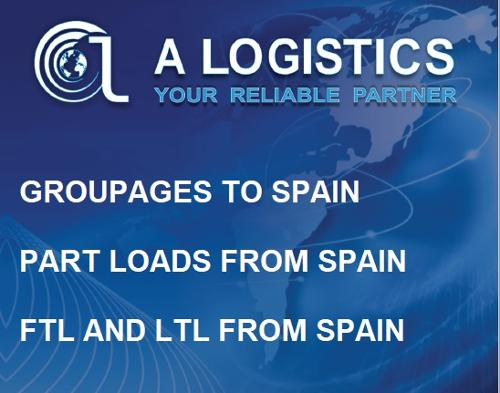 Groupages Bulgaria Spain, Part loads Spain to Bulgaria