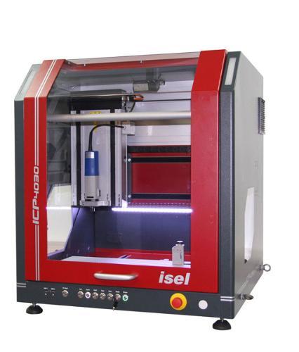 Serie ICP CNC-Fräsmaschine (Schritt)