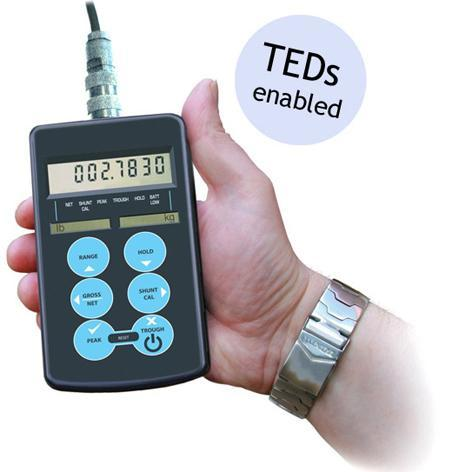 HAND HELD DISPLAY FOR STRAIN GAGE BASED TRANSDUCERS