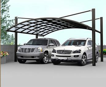 double carport canopy in Romania