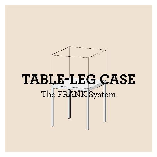 Vitrines de table FRANK