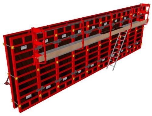 Sécurité pour coffrage modulaire et banche manuportable