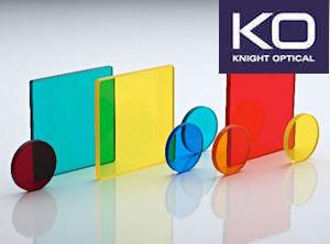 Knight Optical's Color Glass Filters for LED Lighting