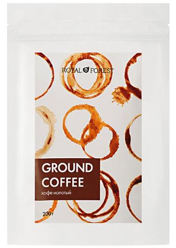 Ground coffee