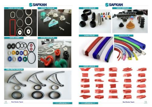 silikon ürünler