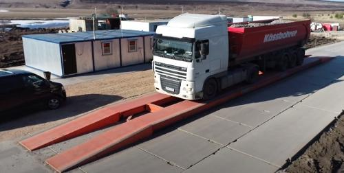 """Truck scales """"Turan"""""""