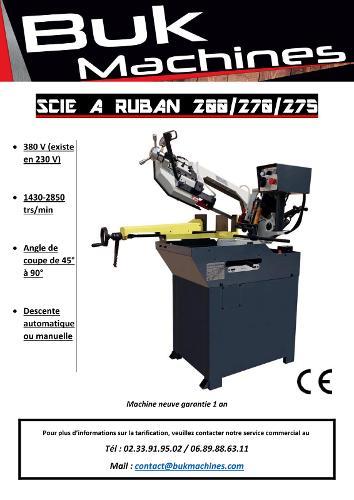 SCIE A RUBAN METAUX BF 275 PRO