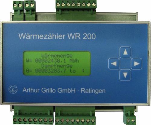 Sistema di conteggio di energia termica - WR200-D