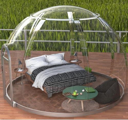 movable villa glass house