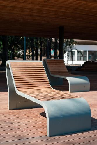 "Bench ""Fly""(Sun lounger)"
