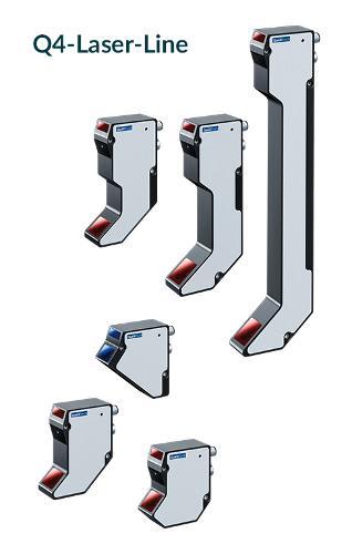 Laser sensor Q4 for 2D/3D applications