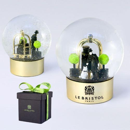 Snow globe - boule à neige luxe en verre