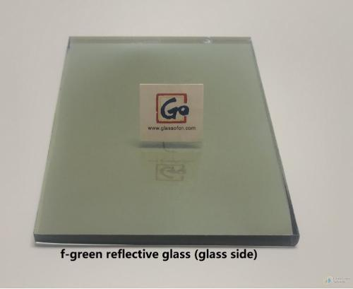 4mm--8mm French Green Reflective Float Glass