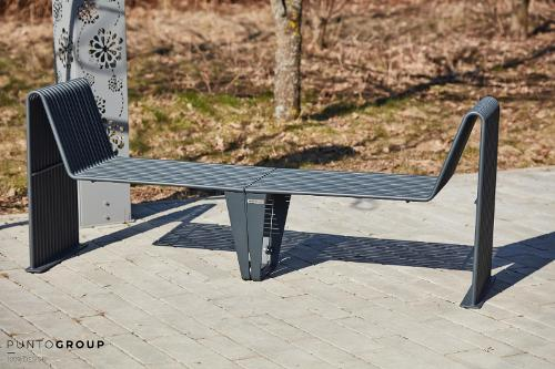 Bench «Infinity» (Sun louger)