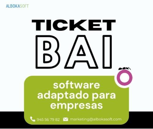 Software adaptado a TicketBAI