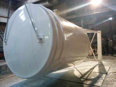 Силос для сухих строительных смесей 18 м³